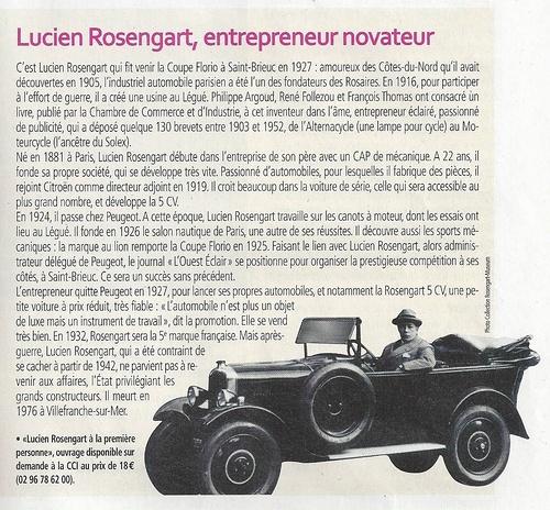 Qui était Lucien Rosengart